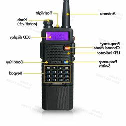 Baofeng UV-5R Dual Band UHF/VHF Radio Upgrade Version 3800ma