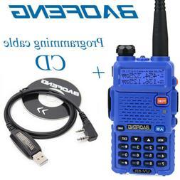 Baofeng UV-5R Two way Radios 5W VHF UHF FM Transceiver Ham W