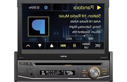 Jensen VX3518 7 Inch Flip Out DVD Receiver with Bluetooth