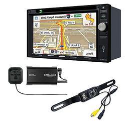 Jensen VX7022 Navigation touch-screen and Sirius XM SXV300V1