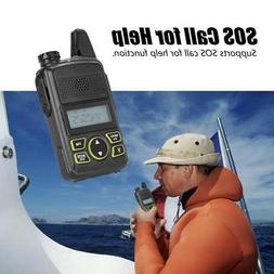 Walkie Talkie Long Range 2 Way 20 Channel 400-480MHZ Ham Rad