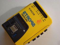 Sony Sports Walkman Radio Cassette Tape FM/AM 2 Bands Radio