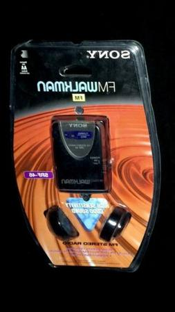Sony Walkman SRF-46 High Sensitivity FM Radio - NEW FACTORY