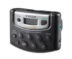 Sony Walkman Digital Tuning Portable Palm Size AM/FM Stereo