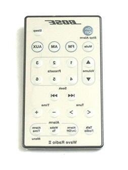 Bose Wave Radio II Remote Control White