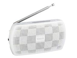 White SONY stereo portable radio SRF-18 / W