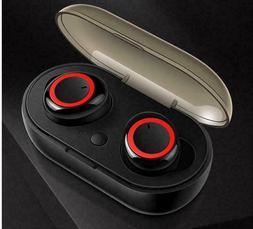 Wireless Headphone Bluetooth For Ear hook Headset Stereo Ear