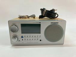 Sangean WR-2 FM-RBDS / AM Wooden Cabinet Digital Tuning Radi