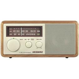 SANGEAN WR11 Sangean Wood Cabinet AM/FM Tabletop Radio