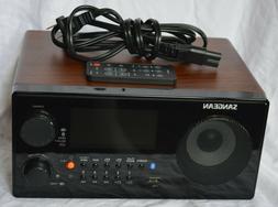 SANGEAN WR22BK FM-RBDS /AM/ USB Bluetooth Digital Tabletop R