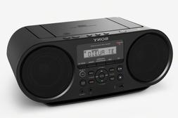 Sony ZSRS60BT CD Boombox with Bluetooth and NFC, Black, Bran